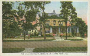 Postcard produced by the Edward W. Meredith Company, Peoria, Illinois