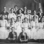 Harrison School Graduating Class, 1910 Peoria(provided by Jeff Schlatter)