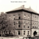 Peoria Public Library, ca. 1922 Peoria(Art Work of Central IL, 1922)