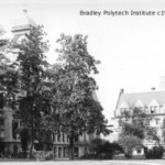 Bradley Polytech Institute Peoria ca. 1922(Art Work of Central IL, 1922)