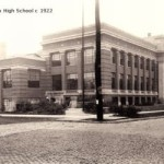 Peoria High School Peoria ca. 1922(Art Work of Central IL, 1922)