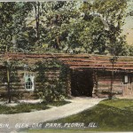 1908 Peoria Postcard (provided by Cleta Riggins)